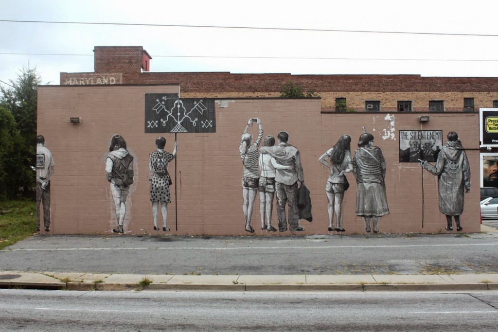 "Daniel ""SAN"" Munoz New Mural For Living Walls – Atlanta, USA"