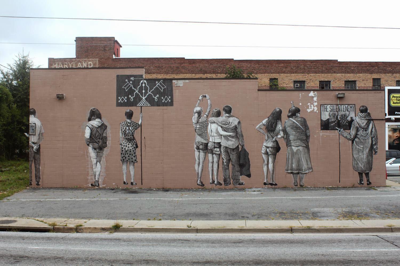 "Daniel ""SAN"" Munoz New Mural For Living Walls – Atlanta, USA"