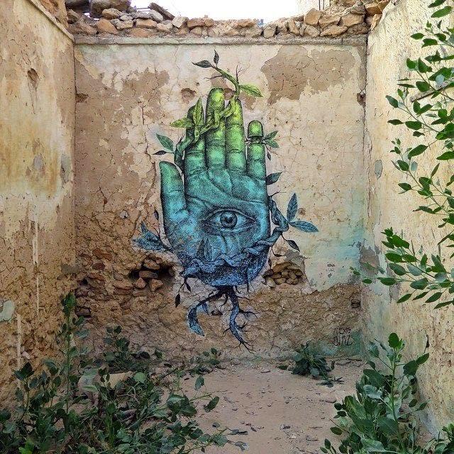 Alexis Diaz New Mural – Djerba, Tunisia
