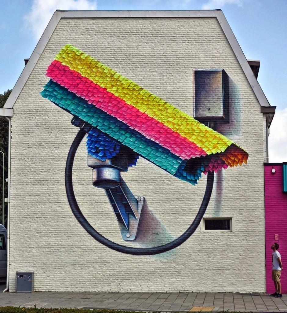 Super-A unveils a new mural in Heerlen, Netherlands