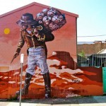 "Fintan Magee creates ""Spirit of Australian Settlement"", a new mural in Sydney, Australia"
