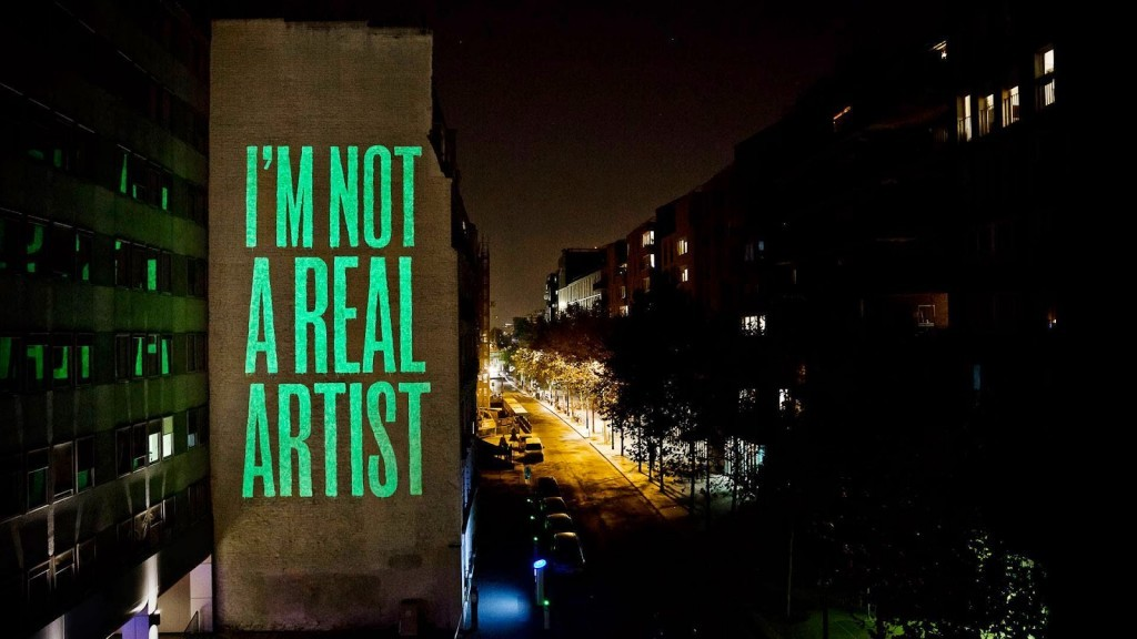"SpY unveils ""I'm not a real artist"" on the streets of Paris, France"