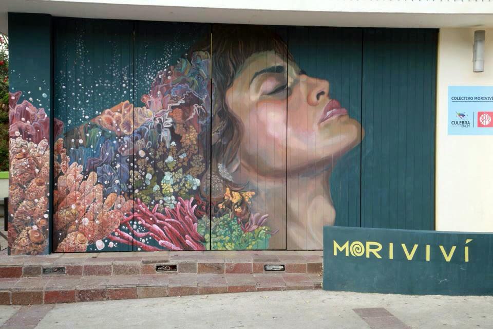 Colectivo Morivivi unveils a new piece for Culebra Es Ley in Puerto Rico