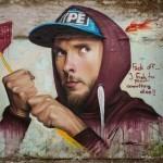 """Lonac unveils """"Buzz Off"""", a new piece in Zagreb, Croatia"""