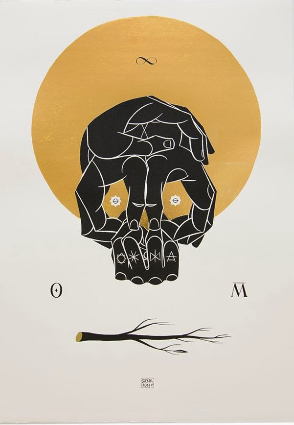 "Basik ""Omnia Mutantur"" Limited Edition Screen-Print"