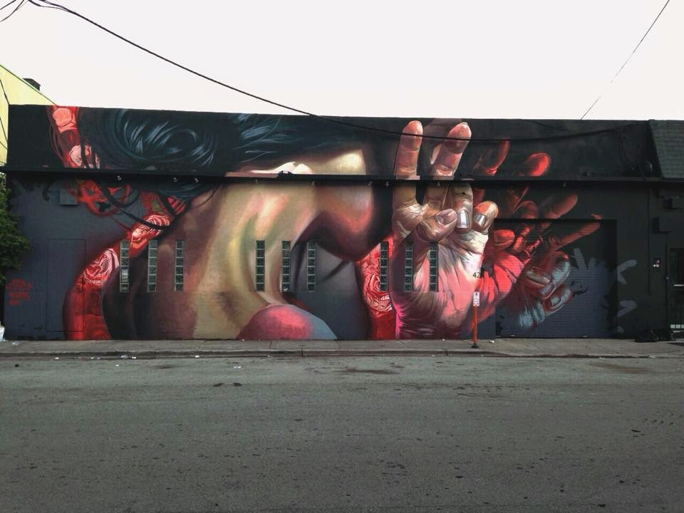 Art Basel '14: Case Ma'Claim unveils a second mural in Wynwood, Miami