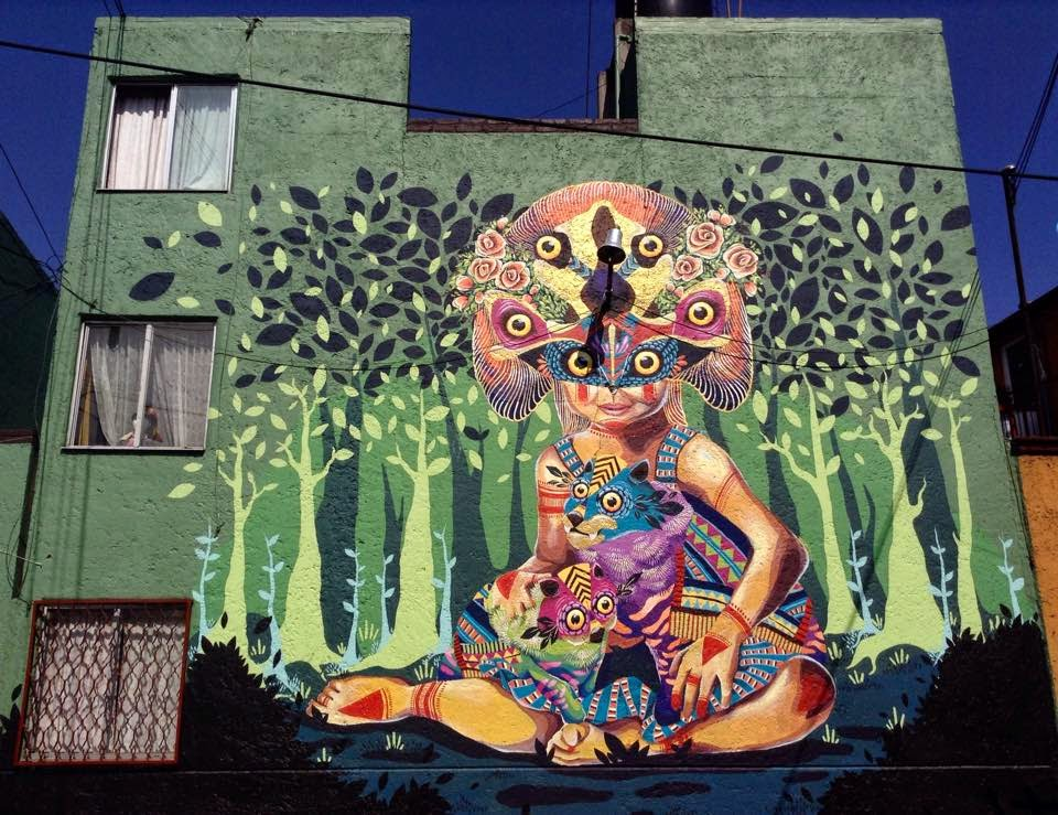 Gleo unveils a new mural in Mexico DF for Constructo Festival