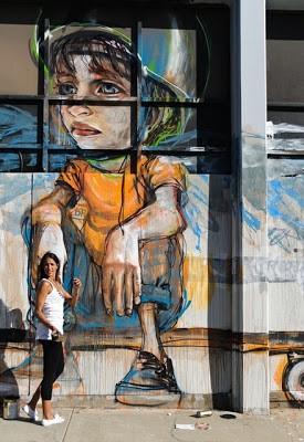 Herakut New Murals In Culver City