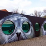 Tasso creates a new batch of pieces at the Odense Zoo in Denmark