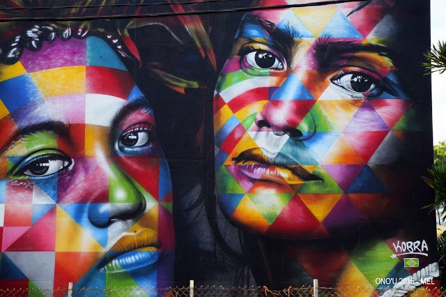 Kobra unveils a new mural in Papeete, Tahiti