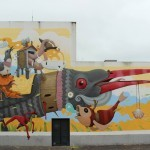 Dulk creates a new piece for Rexenera Festival in Carballo, Spain
