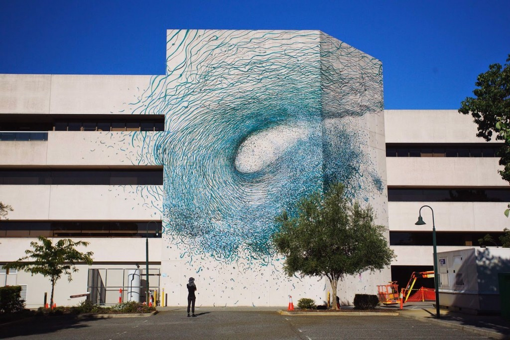 DALeast creates a new mural for Public '15 in Perth, Australia