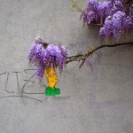 "OakOak brings to life ""SideShow Bob"", its latest street piece in Saint-Etienne, France"