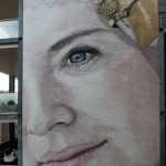 A large portrait by Jorge Rodriguez-Gerada in Goes, Netherlands