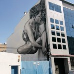 Sfhir creates a stunning artwork on the streets of Madrid, Spain