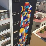 """La Danse De Venus Et Du Marin"" a new collaboration by Okuda and Remed in Malaga, Spain"