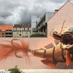 Wes21 and Onur collaborate on a new piece in Aalborg, Denmark