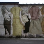 Hyuro paints a new mural in San Potito Sannitico, Italy