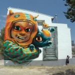 Animalito Land unveils a new mural in Fanzara, Spain