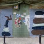 """Escif """"Vertigo"""" New Mural In Valencia, Spain"""