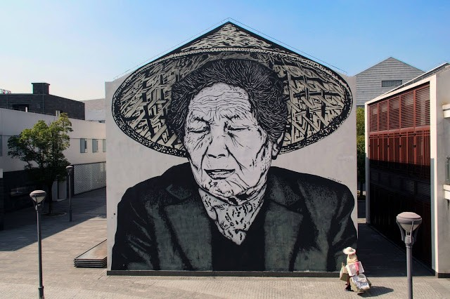 Icy & Sot unveils a new piece in Zhujiajiao, China