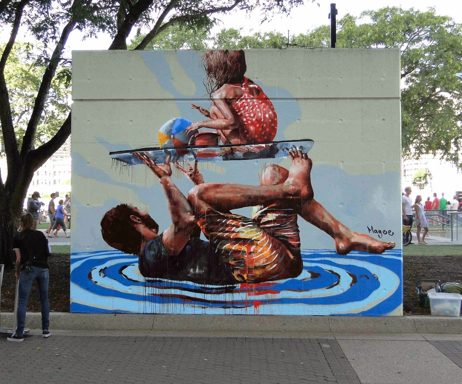 fintan magee high tide new mural brisbane australia