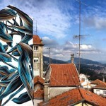 Pantonio creates a stunning artwork in Covilhã, Portugal