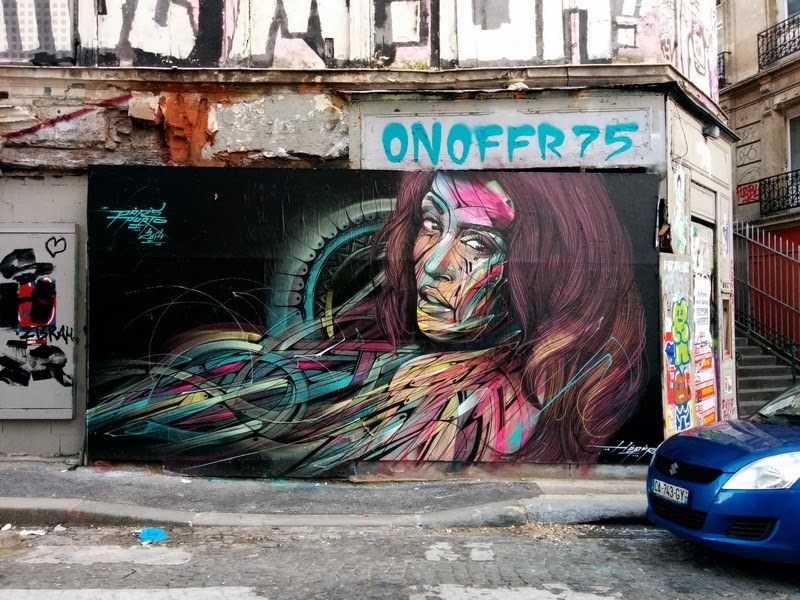Hopare new mural paris 18th france streetartnews for 18th street mural