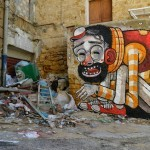 "Mr Thoms ""Trash Only Salvation"" New Street Art In Vallicaldi, Sicily"