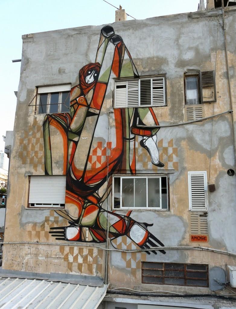 Amose New Mural – Tel-Aviv, Israel