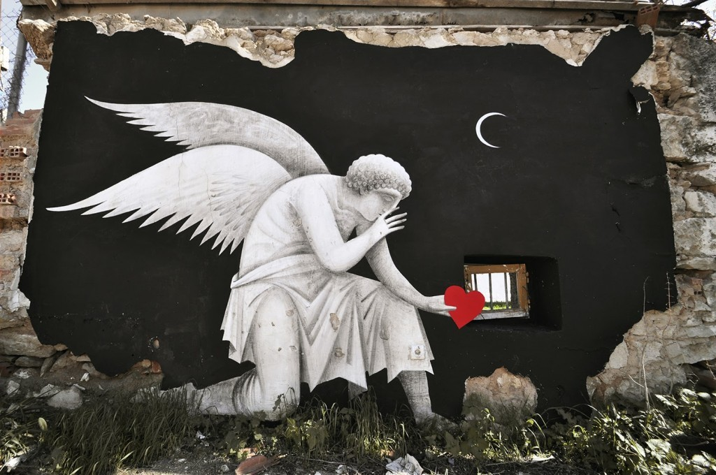 Fikos Antonios New Mural – Athens, Greece