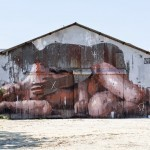 "Borondo ""Transit"" New Mural – Aubervilliers, France"