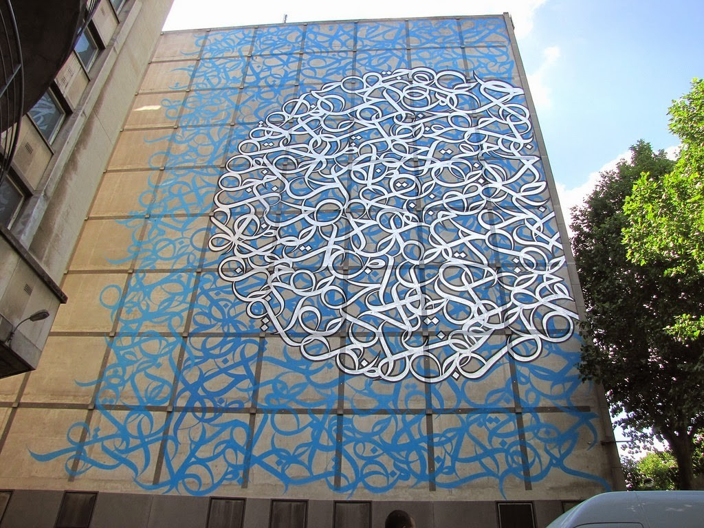 eL Seed New Mural – Paris, France