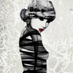 Hush 'Rouge I' Limited Edition Screen Print