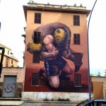 JAZ New Mural For Avanguardie Urbane – Rome, Italy