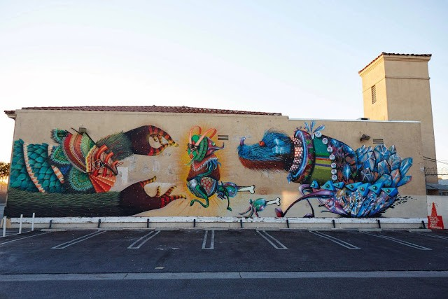 Curiot x Nosego New Mural – Compton, Los Angeles