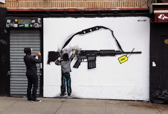 Icy & Sot New Street Art Piece - Lower East Side, New York City