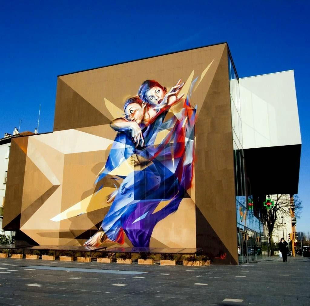 Vesod New Mural – Venaria Reale, Italy