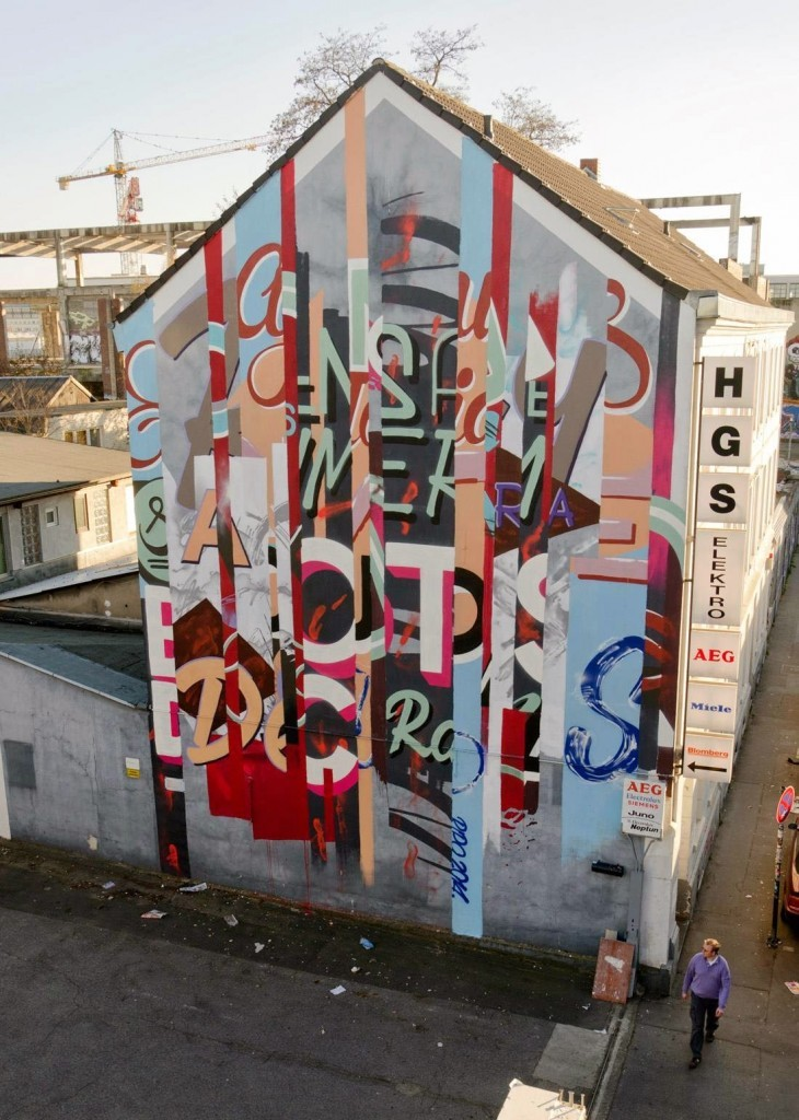 "RIPO ""Domestic Violence"" New Mural – Cologne, Germany"