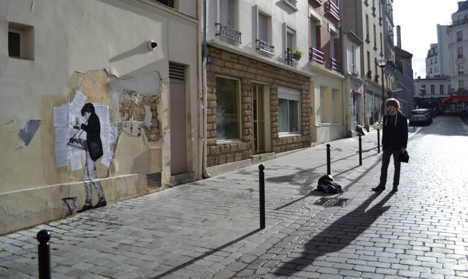 "Levalet ""Inventory"" New Street Piece – Paris, France"