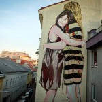 Jana & JS New Mural – Vienna, Austria