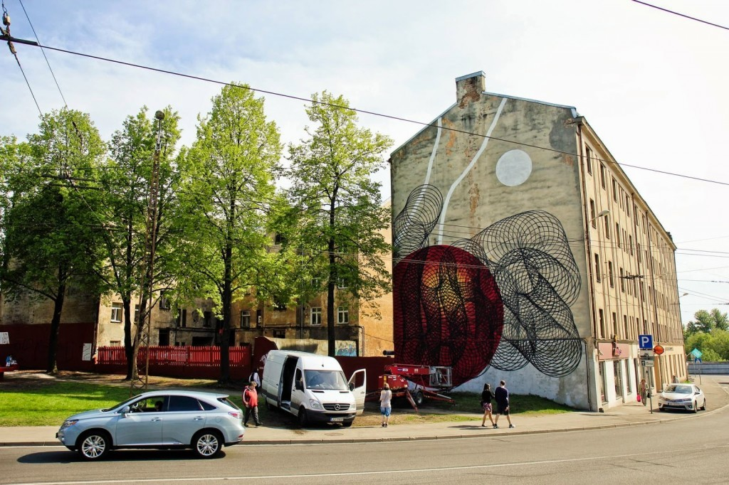 Moneyless New Mural For Blank Canvas Festival – Riga, Latvia