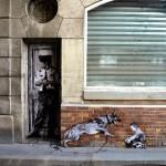 "Levalet ""Security"" New Street Piece – Paris, France"