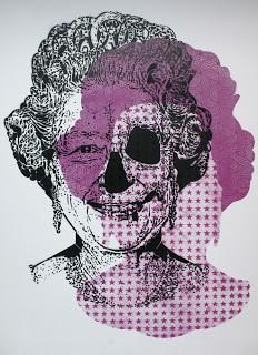 ORTICANOODLES 'God save stencils' Print Release