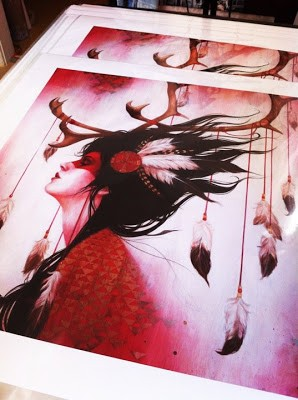 Sylvia Ji 'Red Caribou' Available 2nd February