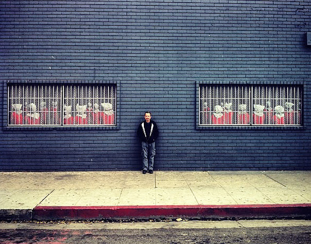 Dan Witz New Street Piece In Los Angeles