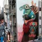 Curiot paints a new mural in San Francisco, USA