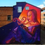 "Natalia Rak ""Magic Book"" New Mural For Artscape Festival – Malmö, Sweden"