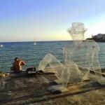 Edoardo Tresoldi New Installation For Oltre Il Muro Festival – Sapri, Italy