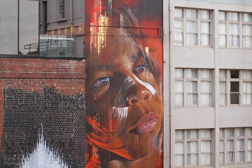 Adnate New Mural - Hosier Lane, Melbourne